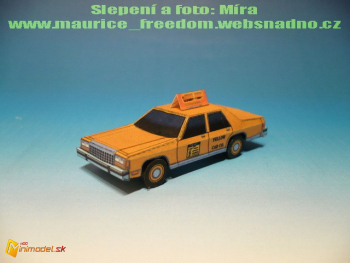 Ford Crown Victoria LTD Taxi