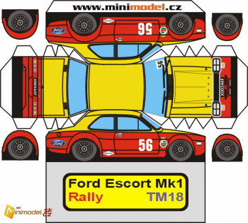 TM18 FORD ESCORT I RS1600 TM