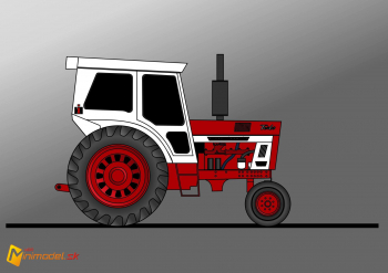 FE3638 INTERNATIONAL 1466 FARMALL