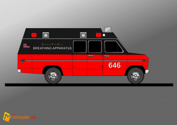 FE3547 FORD ECONOLINE