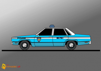 FE2195 FORD FAIRMONT NYPD