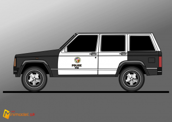 FE2205 JEEP CHEROKEE LAPD