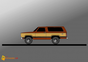FE2989 DODGE RAMCHARGER